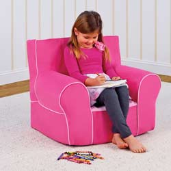Pink Grab-N-Go Kids Chair