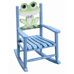 Child's Froggy Rocking Chair