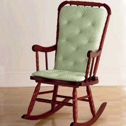 Beau Heavenly Soft Adult Rocking Chair Cushion
