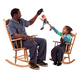 Charming Adult Rocking Chair