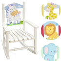 Safari Child's Rocking Chair
